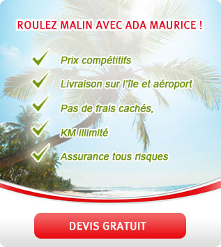 Offre Ada Maurice location voiture